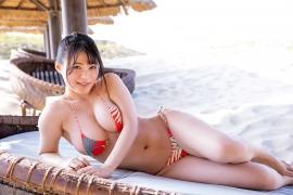 Mizuki Hoshina swimsuit bikini gravure Once again Heart Beats 012