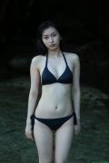 Black bikini Haropros beautiful girl Akari Uemura swimsuit gravure011
