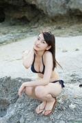 Black bikini Haropros beautiful girl Akari Uemura swimsuit gravure014