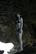 Black bikini Haropros beautiful girl Akari Uemura swimsuit gravure022