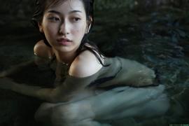 Black bikini Haropros beautiful girl Akari Uemura swimsuit gravure024
