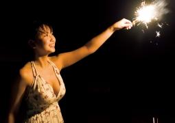 Aika Sawaguchi Swimsuit bikini gravure Sea fireworks 2020006