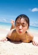 uuno Ohara Swimsuit Bikini Gravure 20 years old me Midsummer Beach001