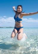 uuno Ohara Swimsuit Bikini Gravure 20 years old me Midsummer Beach005