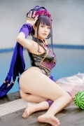 Cosplay Swimsuit Style Costume: Purple Shikibu FateGrand Order 2009