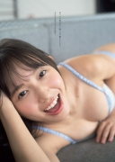 Shida Onda swimsuit bikini gravure Amazingly pure and natural active female college student 2021003