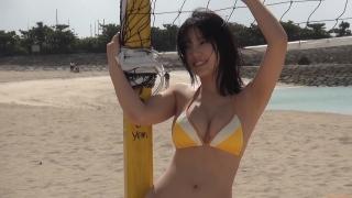 Aika Sawaguchi New Year First Swimsuit Gravure Queen 2021030