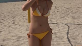 Aika Sawaguchi New Year First Swimsuit Gravure Queen 2021033