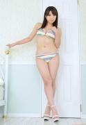 Colorful bikini Aie Ikeda swimsuit gravure image008