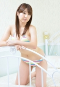 Colorful bikini Aie Ikeda swimsuit gravure image061