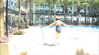 Uncle Sumir es School Swimsuit Gravure Pool 007