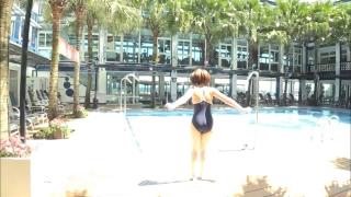Uncle Sumir es School Swimsuit Gravure Pool 006