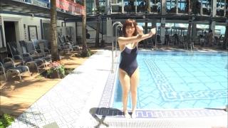 Uncle Sumir es School Swimsuit Gravure Pool 048