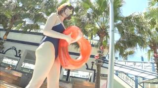 Uncle Sumir es School Swimsuit Gravure Pool 072