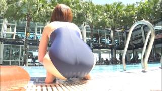 Uncle Sumir es School Swimsuit Gravure Pool 079