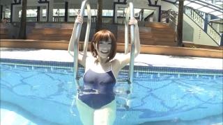Uncle Sumir es School Swimsuit Gravure Pool 087