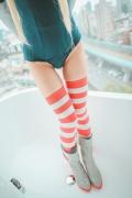Cosplay Swimsuit Style Costume: Shimakaze Fleet Kore Kukushon018