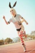 Cosplay SwimsuitStyle Costume Shimakaze Fleet Kore Kukushon008