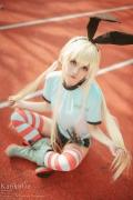 Cosplay SwimsuitStyle Costume Shimakaze Fleet Kore Kukushon010