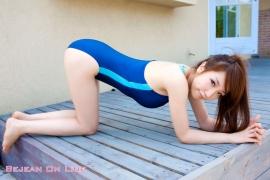 Bishoujo Gakuen Airi Shimizu School Uniform Bloomers Swimming Race Swimsuit Images031