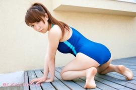 Bishoujo Gakuen Airi Shimizu School Uniform Bloomers Swimming Race Swimsuit Images032