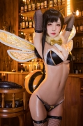 Cosplay Swimsuit Gravure Tifa Final Fantasy VII FF7R002