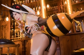 Cosplay Swimsuit Gravure Tifa Final Fantasy VII FF7R006