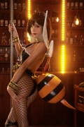 Cosplay Swimsuit Gravure Tifa Final Fantasy VII FF7R071