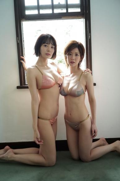 Mari Takamiya Saka Okada swimsuit gravure Big tits too female mahjong 3011