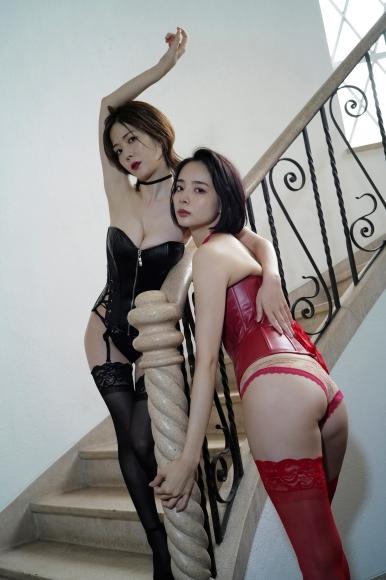 Mari Takamiya Saka Okada swimsuit gravure Big tits too female mahjong 4018