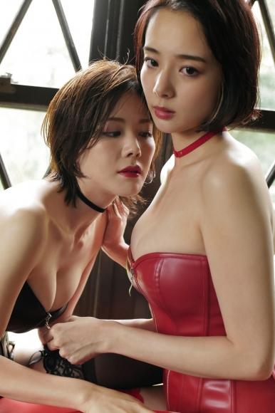 Mari Takamiya Saka Okada swimsuit gravure Big tits too female mahjong 5004