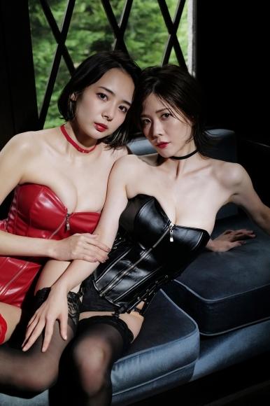 Mari Takamiya Saka Okada swimsuit gravure Big tits too female mahjong 5005