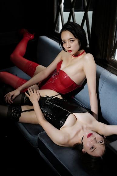 Mari Takamiya Saka Okada swimsuit gravure Big tits too female mahjong 5009