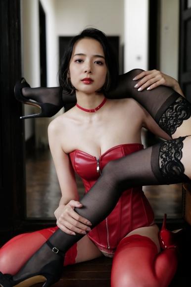 Mari Takamiya Saka Okada swimsuit gravure Big tits too female mahjong 5010