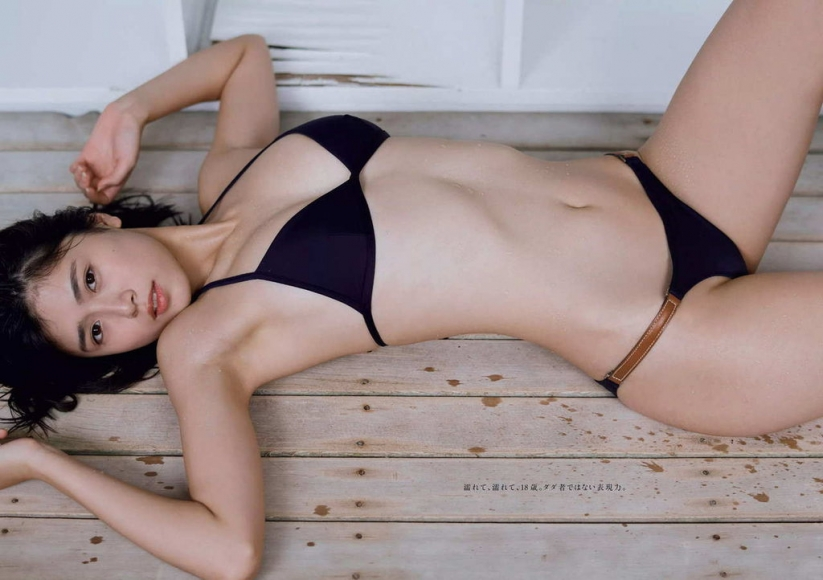 Tamayo Kitamukai swimsuit gravure image030