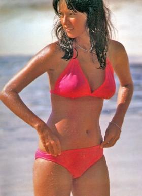 Agnes Lamb swimsuit gravure Sun lover009