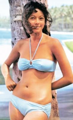 Agnes Lamb swimsuit gravure Sun lover015
