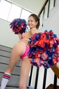 Mayumi Yamanaka Swimsuit Gravure Pretty Cheerleader011