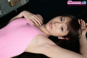Karin Kurosawa Swimming Race Swimsuit Image Pink012