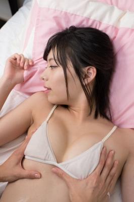 Chiaki Narumi White bikini White bikini String bikini028