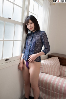 Chiaki Narumi Ultrasmall highlegged deformed swimsuit012