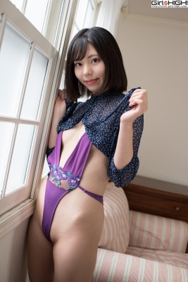 Chiaki Narumi Ultrasmall highlegged deformed swimsuit016