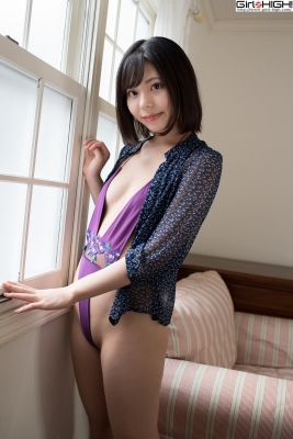 Chiaki Narumi Ultrasmall highlegged deformed swimsuit018