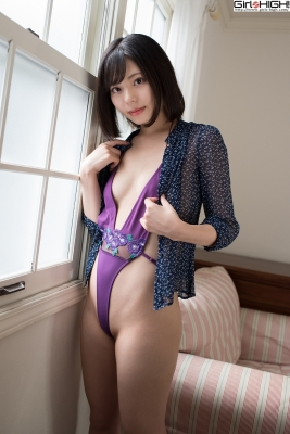 Chiaki Narumi Ultrasmall highlegged deformed swimsuit017