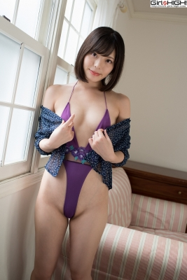 Chiaki Narumi Ultrasmall highlegged deformed swimsuit021