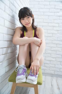 Risa Sawamura track and field team uniform002