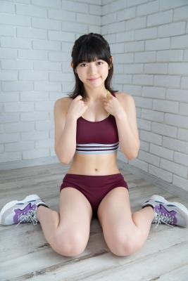 Risa Sawamura track and field team uniform014
