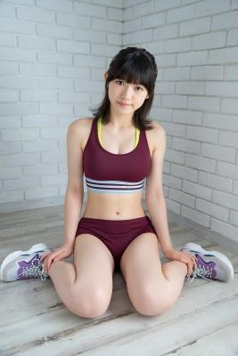 Risa Sawamura track and field team uniform013