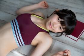 Risa Sawamura track and field team uniform028