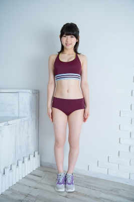 Risa Sawamura track and field team uniform036